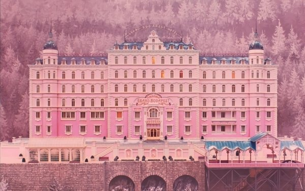Movie The Grand Budapest Hotel Pink Hotel HD Wallpaper | Background Image