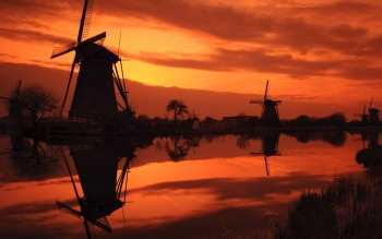 Hecho Por El Hombre - Windmill Wallpapers and Backgrounds ID : 76192