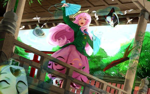 Anime Touhou Hata no Kokoro HD Wallpaper | Background Image