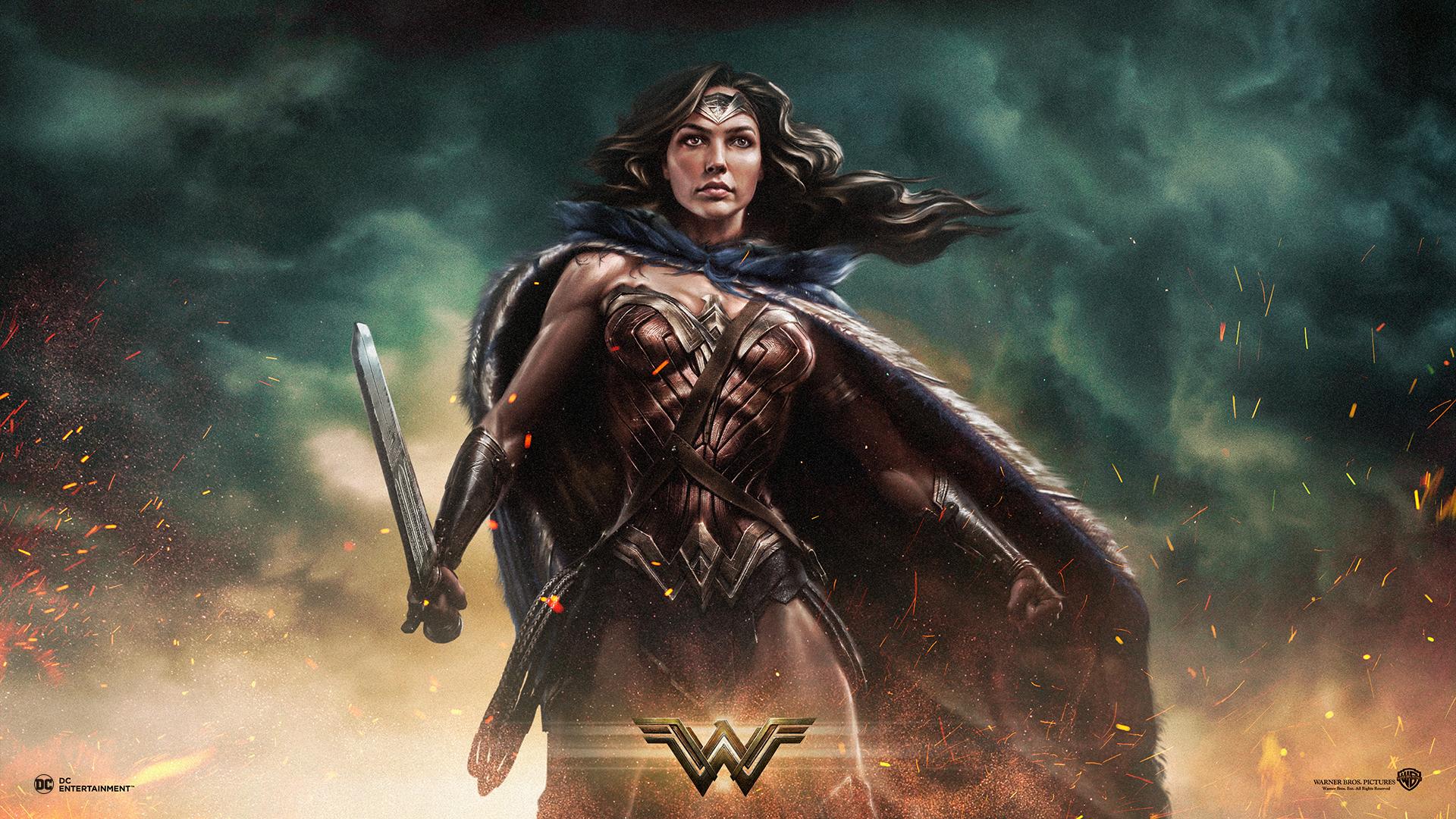 Wonder Woman 2017 A Sub Gallery By Kylar Wallpaper Abyss