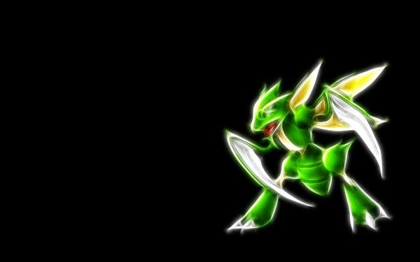 Video Game Pokémon Scyther Glow HD Wallpaper | Background Image