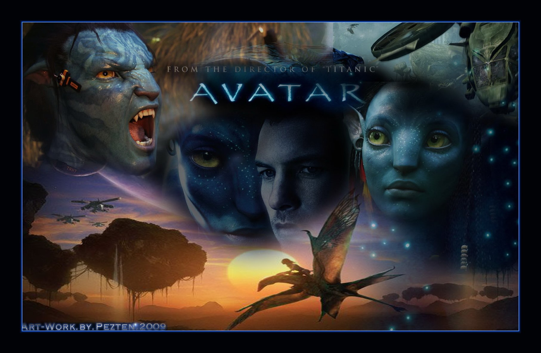 Movie - Avatar  Neytiri (Avatar) Wallpaper