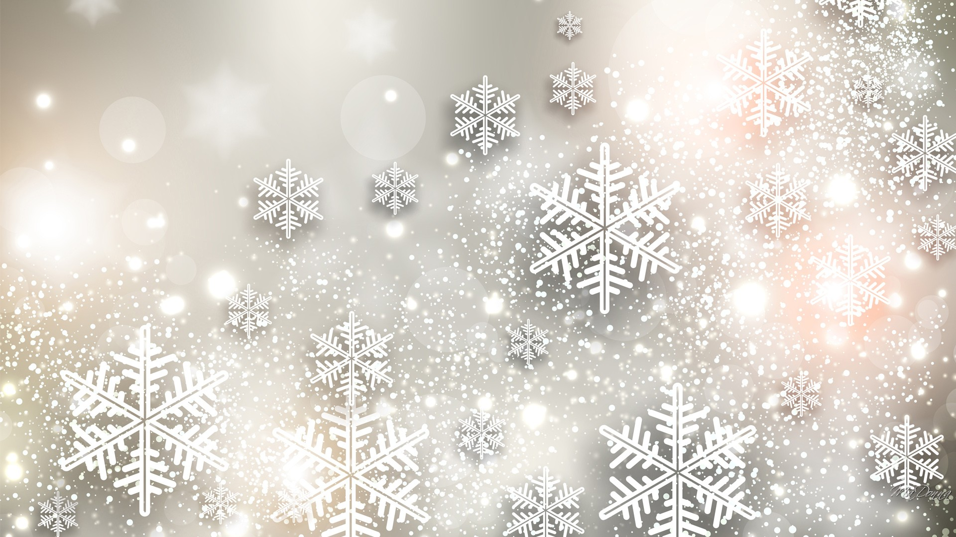 Snowflakes HD Wallpaper | Background Image | 1920x1080 ...