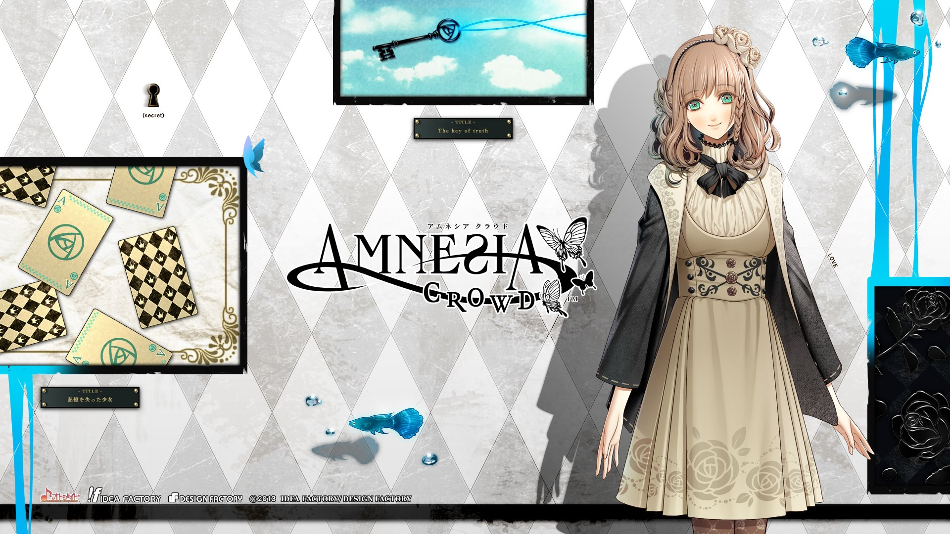 Anime - Amnesia  Otome Game Wallpaper