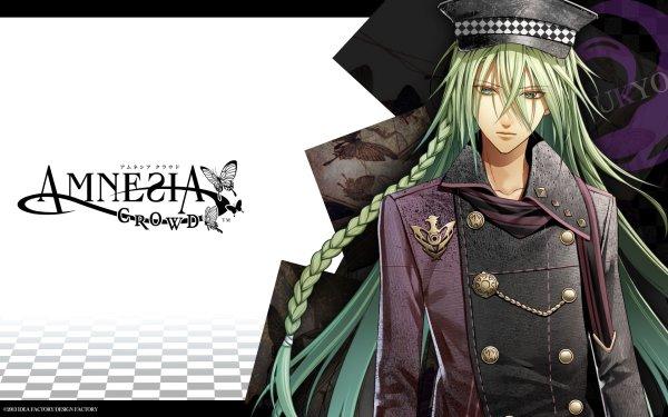 Anime Amnesia Ukyo Otome Game HD Wallpaper | Background Image