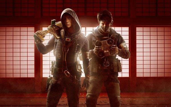 Video Game Tom Clancy's Rainbow Six: Siege Echo Hibana HD Wallpaper   Background Image