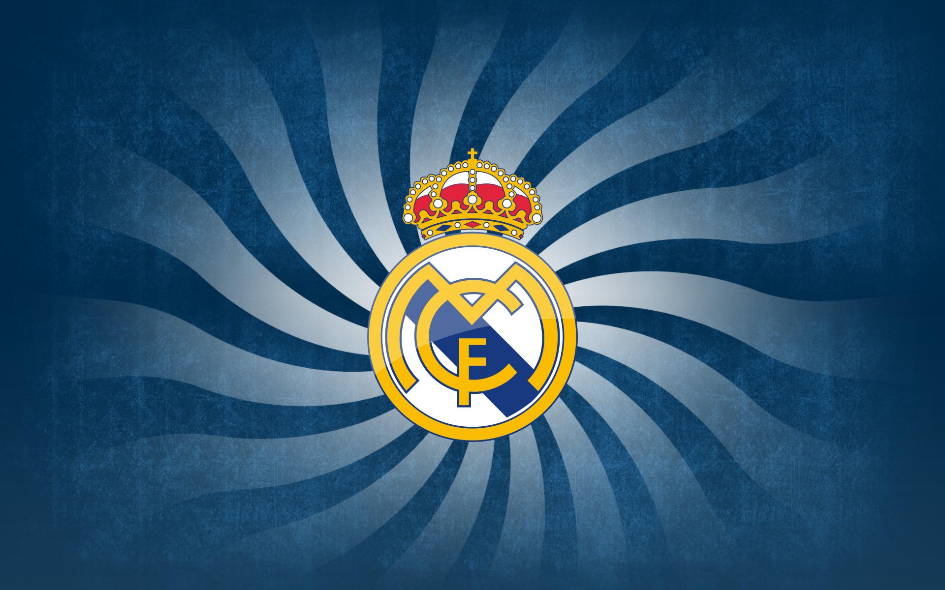 sports real madrid c f real madrid logo bakgrund