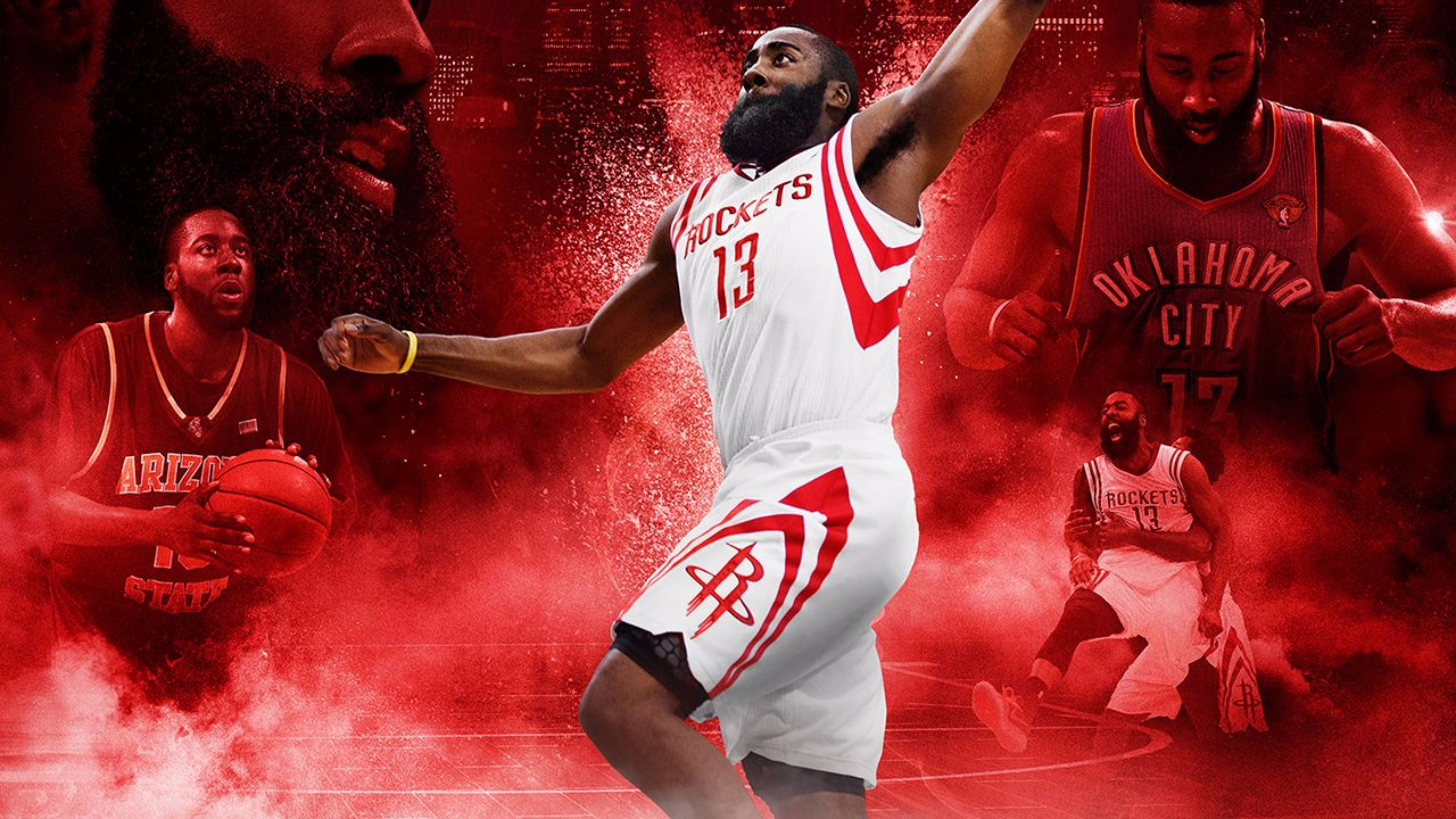 James Harden 4k Ultra HD Wallpaper
