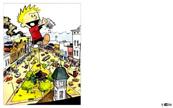 Caricatura - Calvin Y Hobbes Wallpapers and Backgrounds ID : 77132