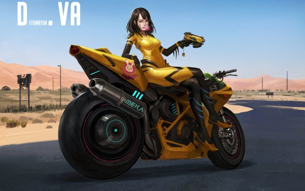 Video Game Overwatch D.Va HD Wallpaper   Background Image