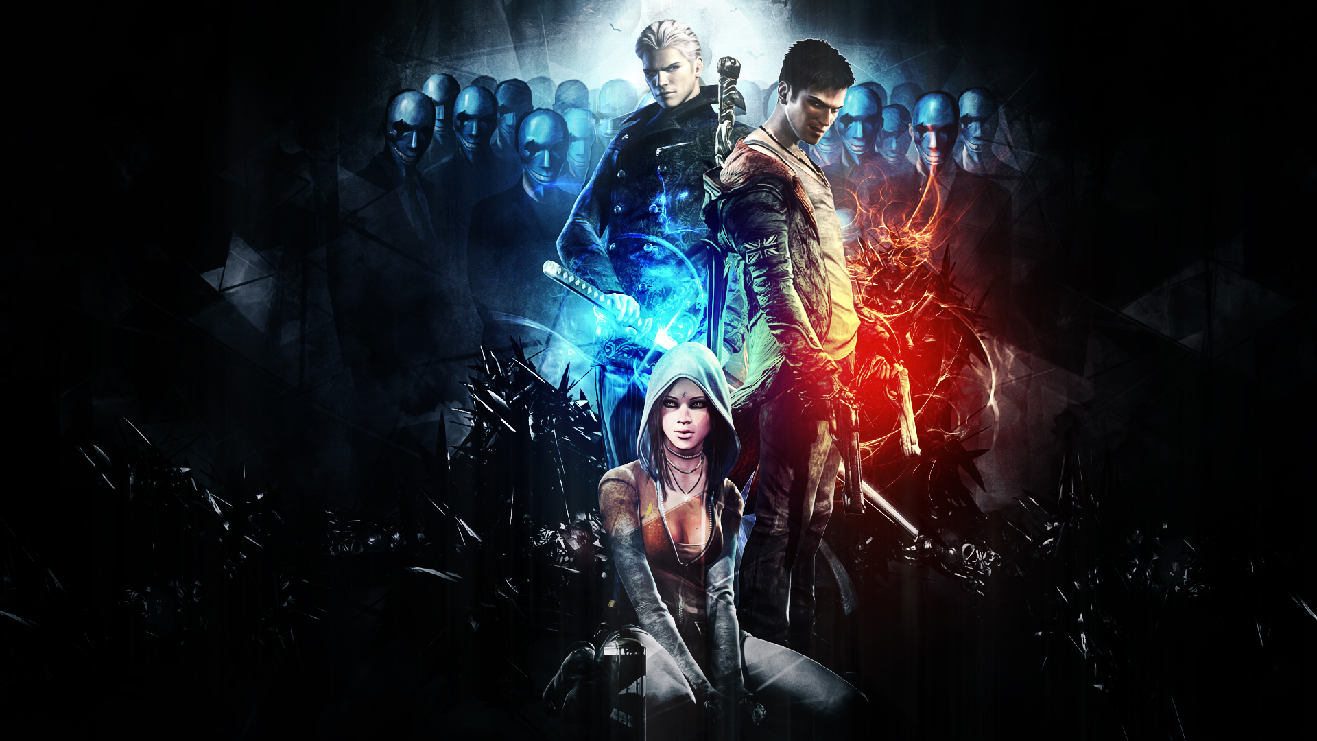 Dmc Devil May Cry Hd Wallpaper Background Image