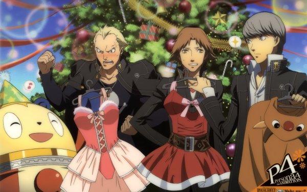 Video Game Persona 4 Persona Teddy Kanji Tatsumi Yousuke Hanamura Teddie HD Wallpaper | Background Image