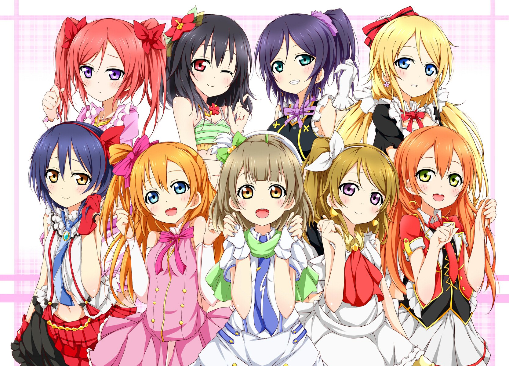 Love Live Anime Iphone Wallpaper : Love Live! Wallpaper and Background 1667x1200 ID:776697