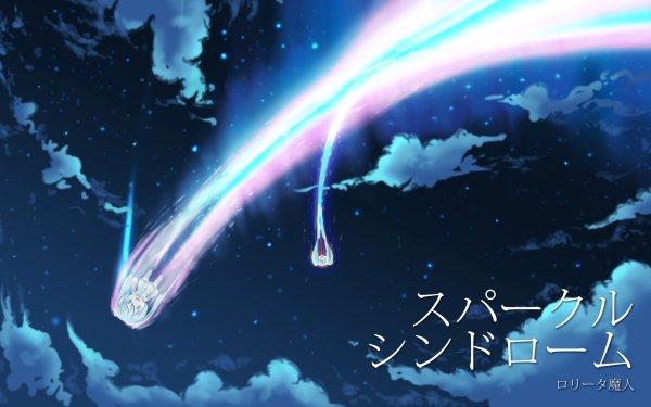 Anime Crossover Hatsune Miku Hachune Miku Kimi No Na Wa. Vocaloid HD Wallpaper | Background Image