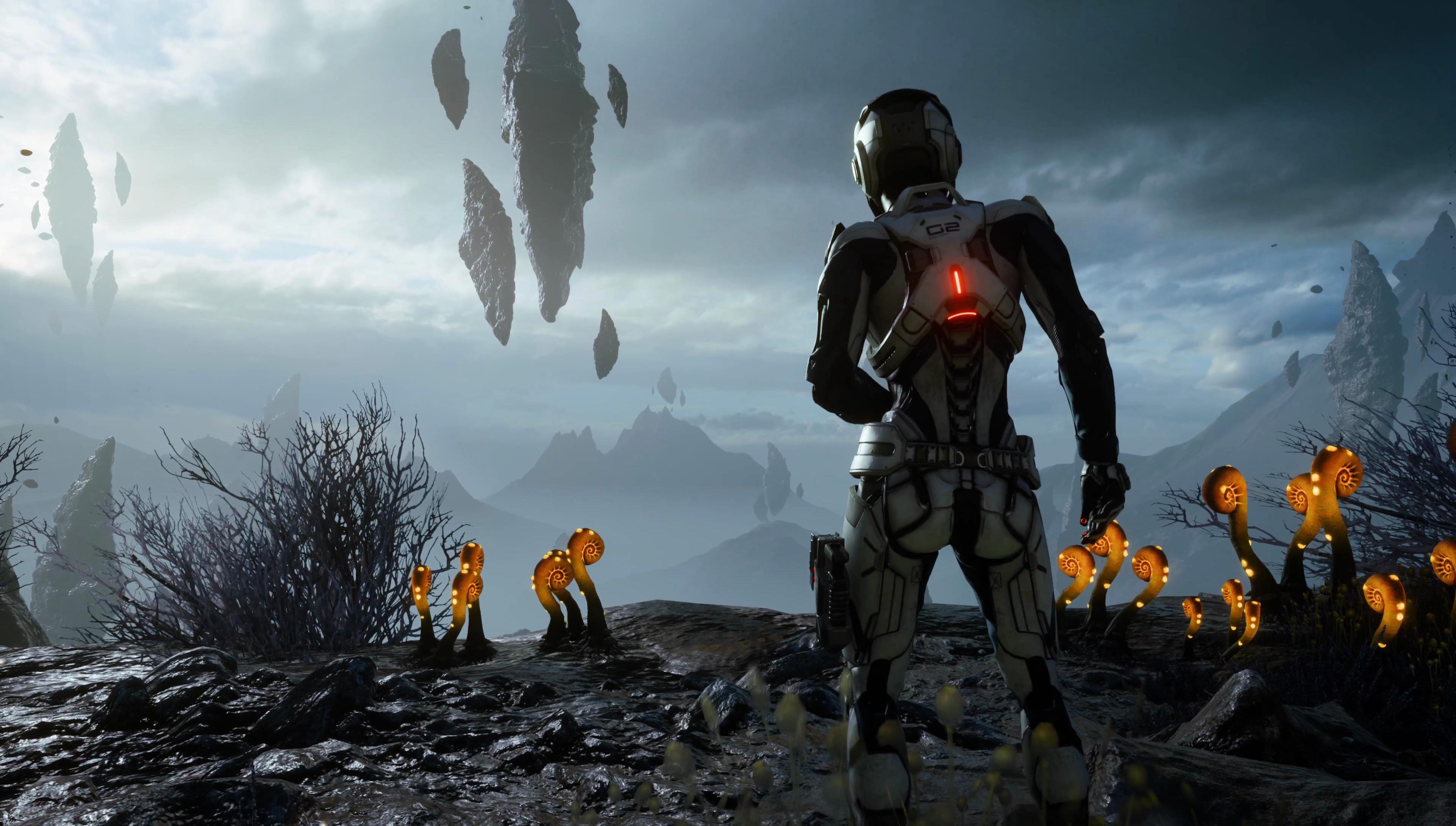 Mass Effect Andromeda Wallpaper Iphone: Mass Effect: Andromeda 4k Ultra HD Wallpaper