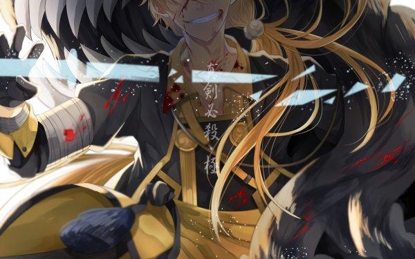 Anime Touken Ranbu Shishiou HD Wallpaper | Background Image