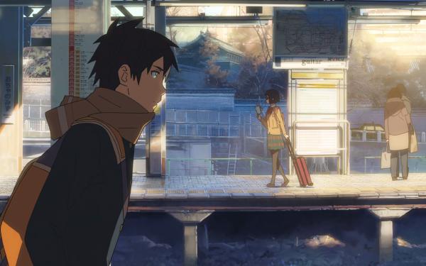 Anime Cross Road Miho Station Shouta HD Wallpaper | Background Image