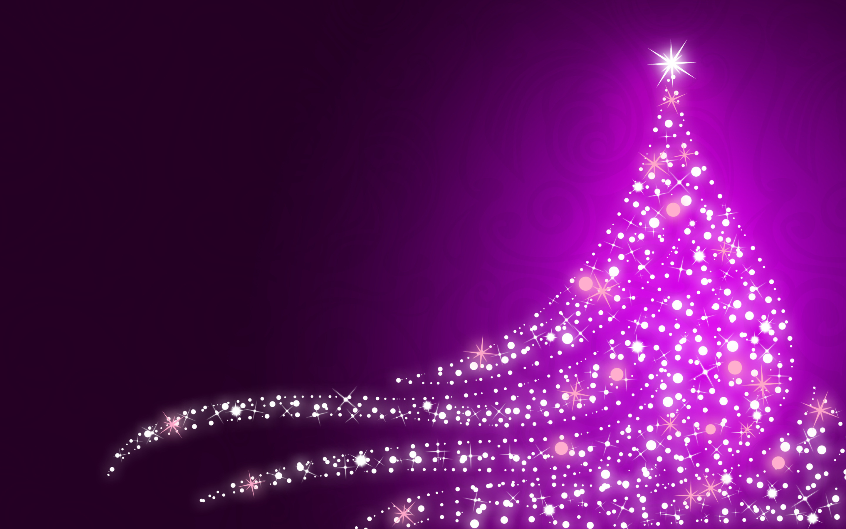 Purple Christmas Tree.Purple Christmas Tree Hd Wallpaper Background Image