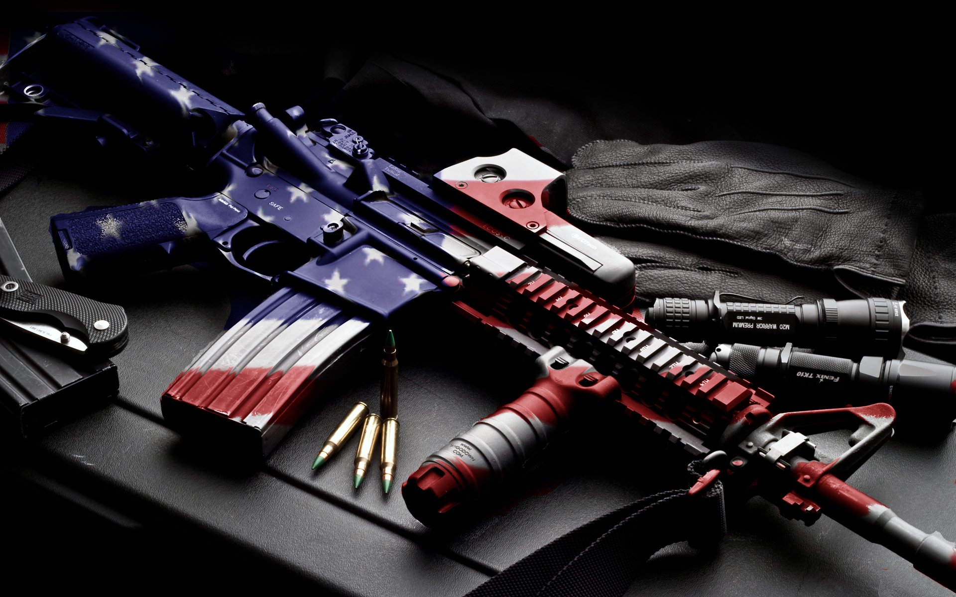 Weapons - Colt AR-15  M16 Rifle Wallpaper