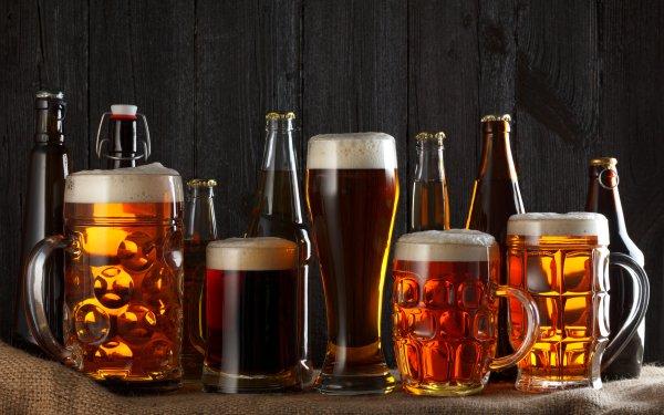 Food Beer Mug Glass Bottle Alcohol HD Wallpaper | Background Image