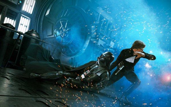 Movie Star Wars Episode VI: Return Of The Jedi  Star Wars Luke Skywalker Darth Vader HD Wallpaper | Background Image