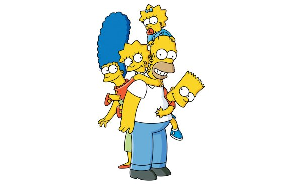 TV Show The Simpsons Homer Simpson Bart Simpson Maggie Simpson Marge Simpson Lisa Simpson HD Wallpaper | Background Image