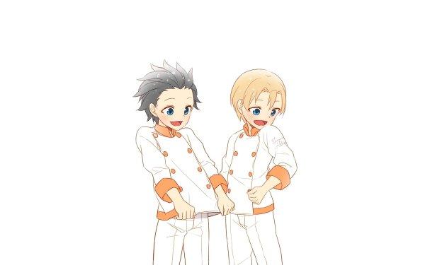 Anime Food Wars: Shokugeki no Soma Isami Aldini Takumi Aldini Shokugeki No Soma HD Wallpaper | Background Image