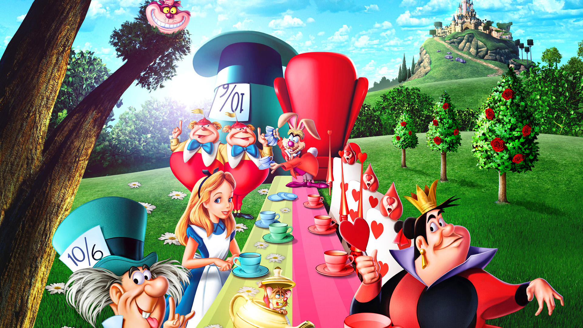 Alice In The Wonderland Cartoon Full Movie Free