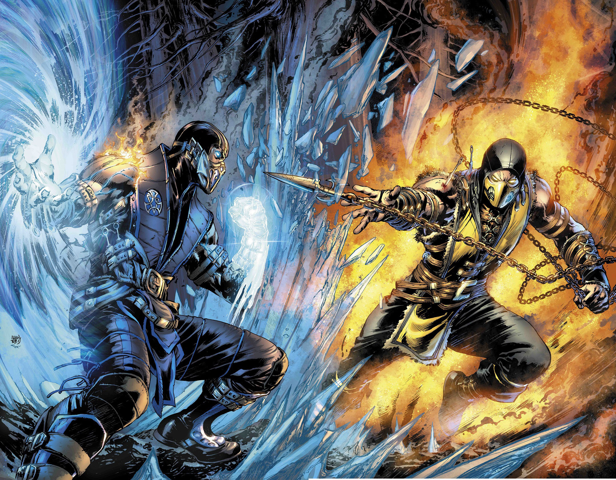 44 Sub Zero Mortal Kombat HD Wallpapers