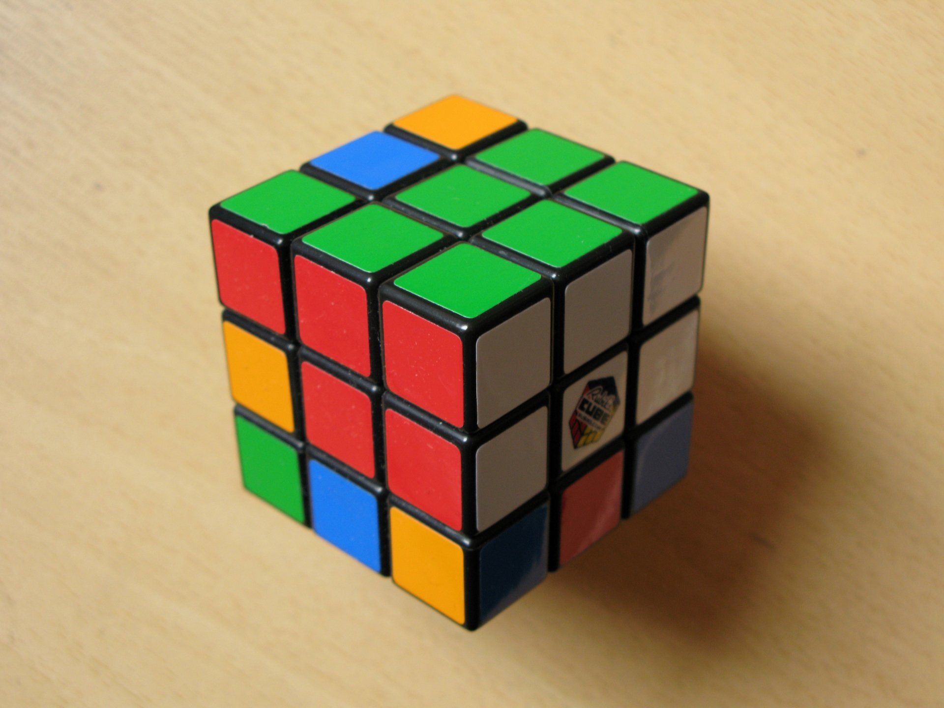 Game - Rubik's Cube  Wallpaper