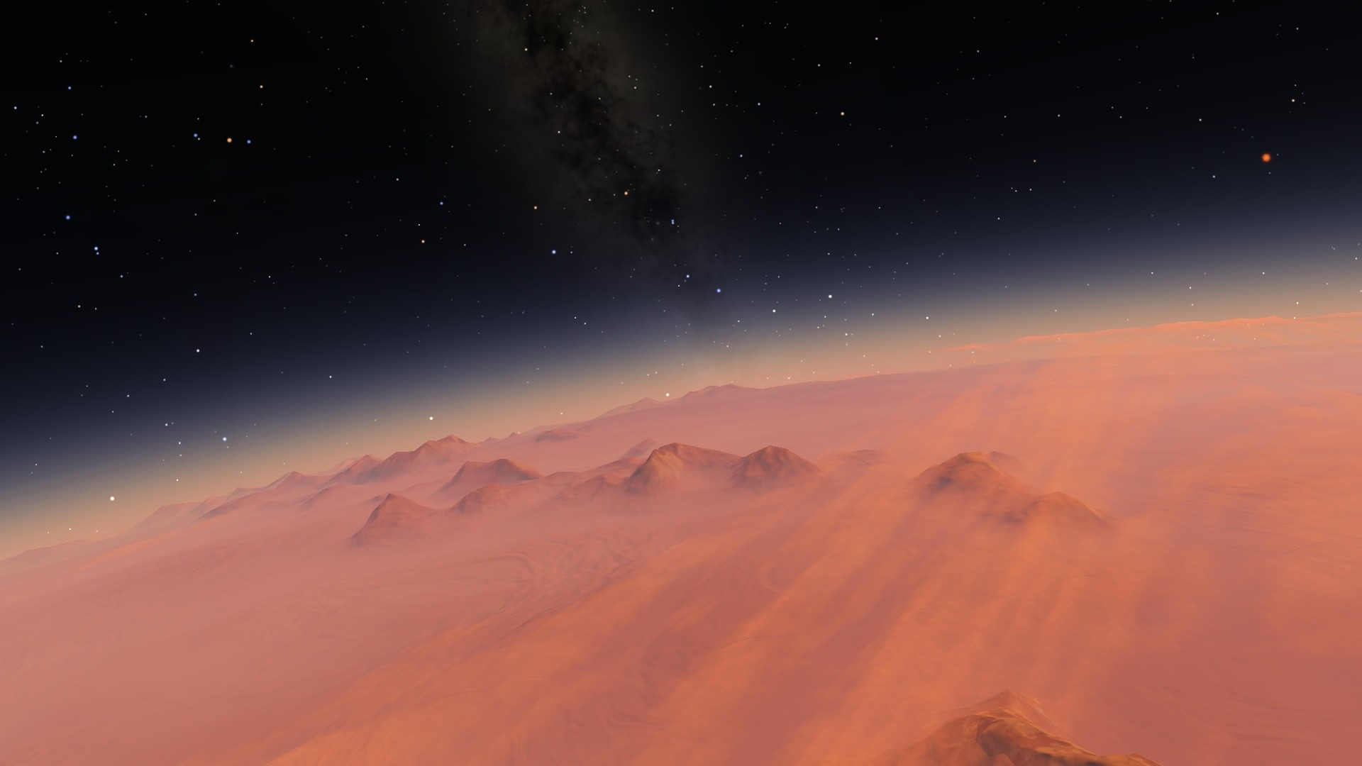 Surface of a planet space engine hd wallpaper - Deep space 3 wallpaper engine ...