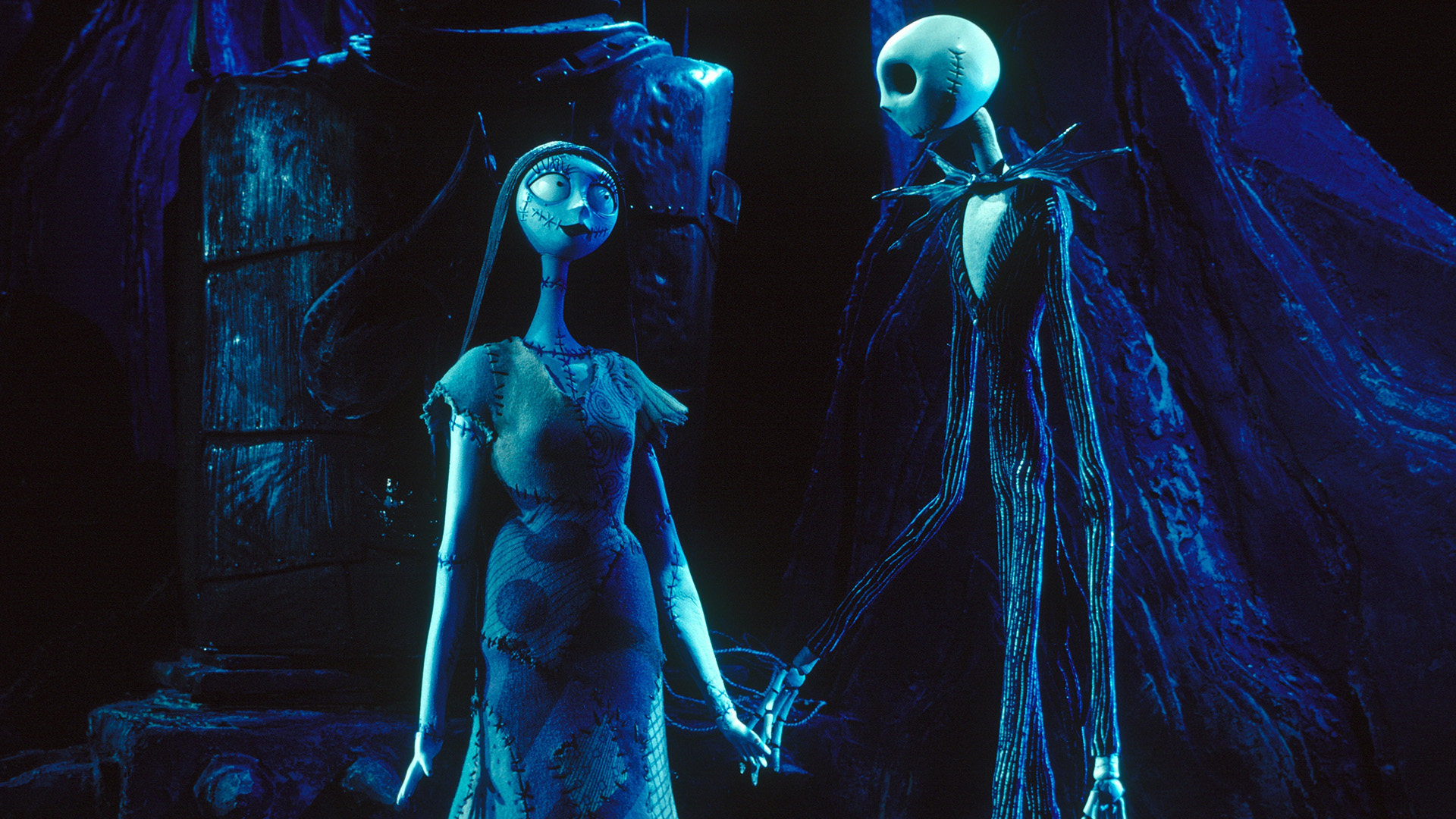 The Nightmare Before Christmas Hd Wallpaper Background Image