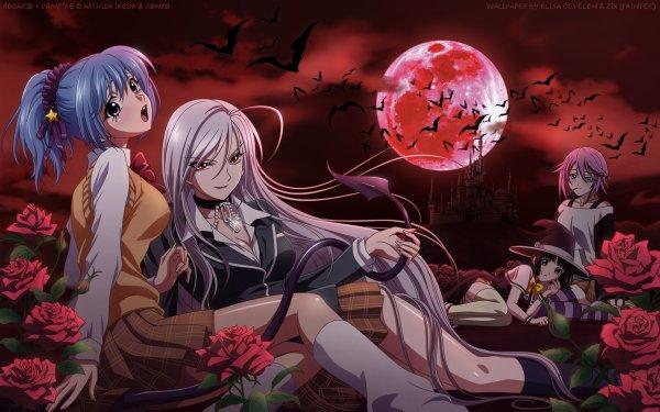 Anime Rosario + Vampire HD Wallpaper | Background Image