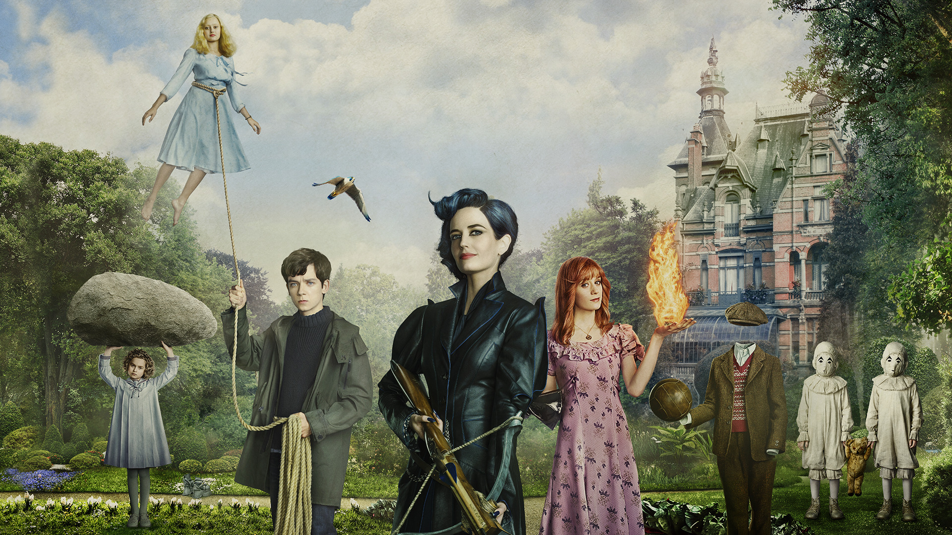 Miss Peregrine S Home For Peculiar Children Hd Wallpaper
