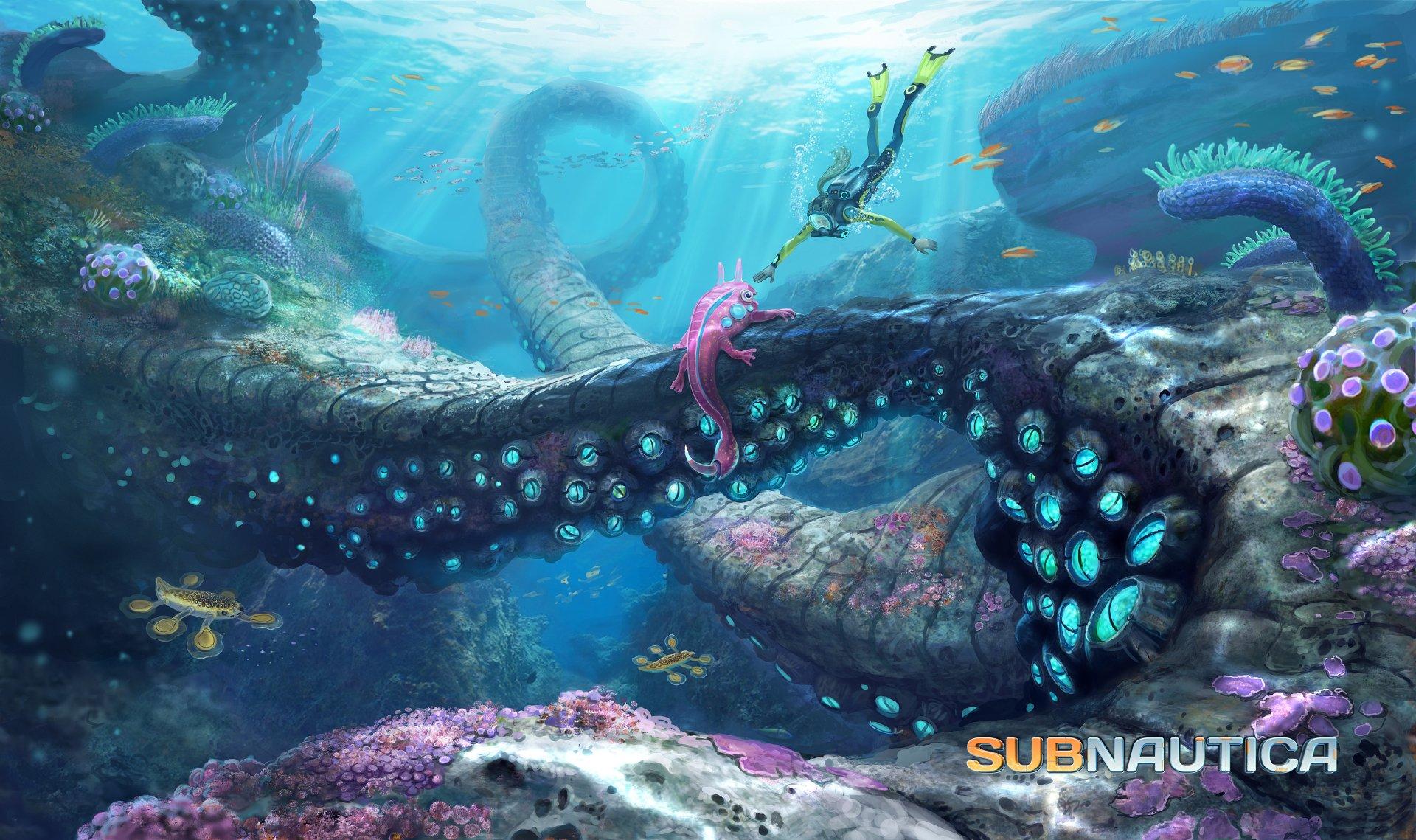 Video Game - Subnautica  Creature Wallpaper