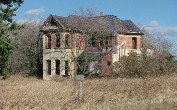 Man Made Ruin Mansion HD Wallpaper   Background Image