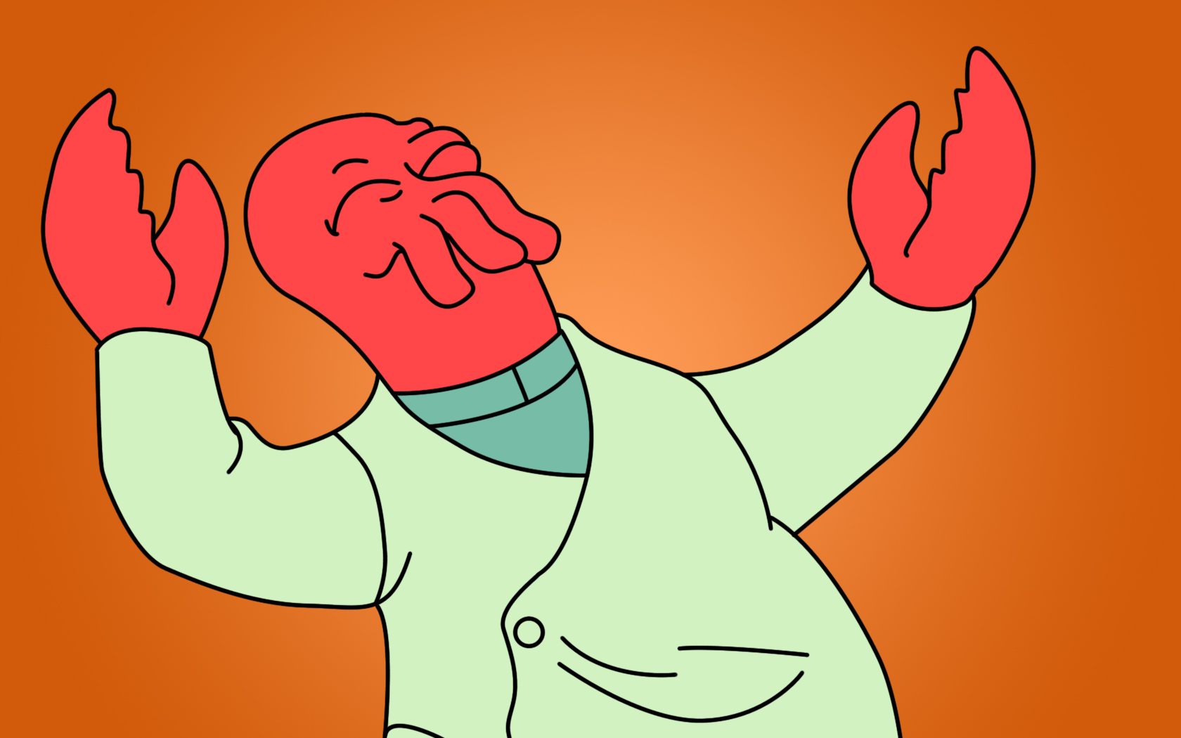 TV Show - Futurama  Zoidberg Wallpaper