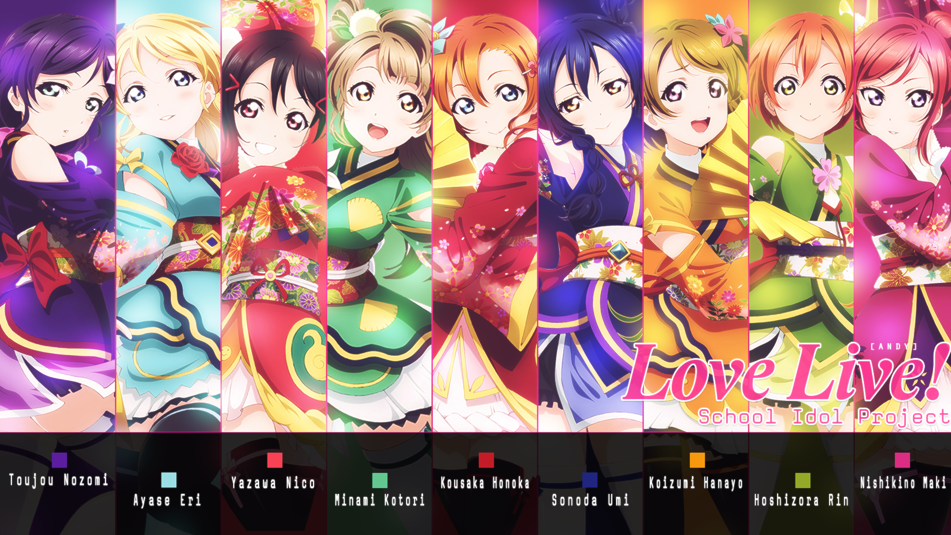 Love Live Iphone 4 Wallpaper : Love!Live! Anime Wallpapers HD 4K Download For Mobile ...