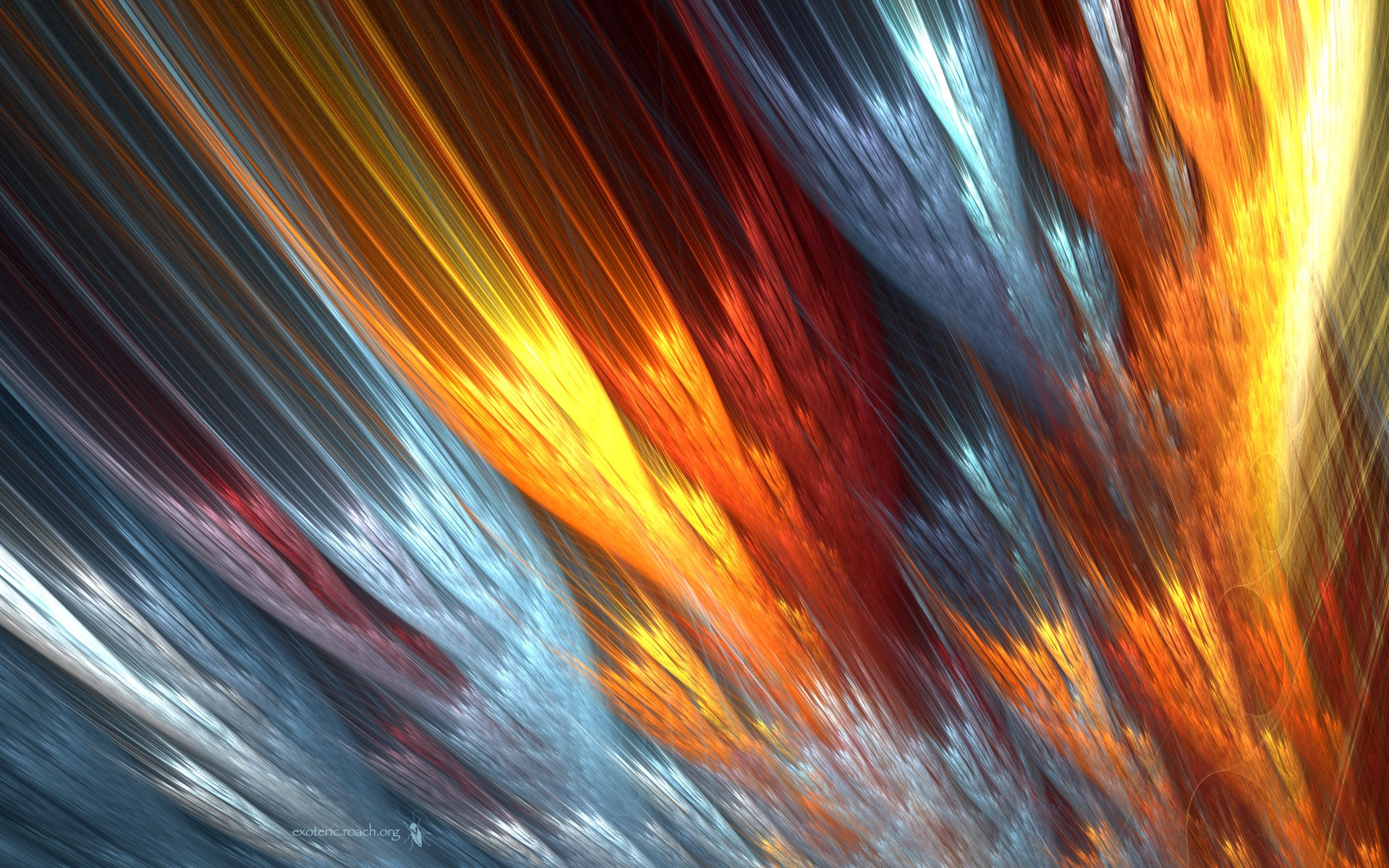 Abstract - Other  Colors Shapes Pattern Texture CGI Abstract Artistic Wallpaper