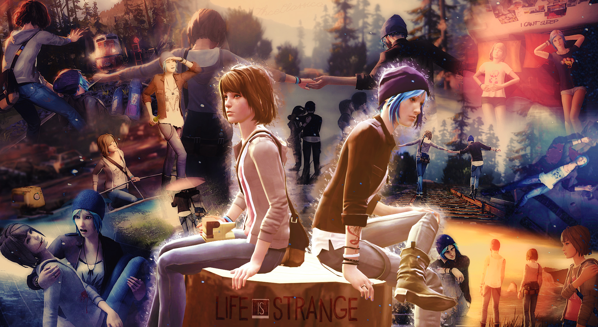 Life Is Strange Mixed Scenes Hd Wallpaper Background Image