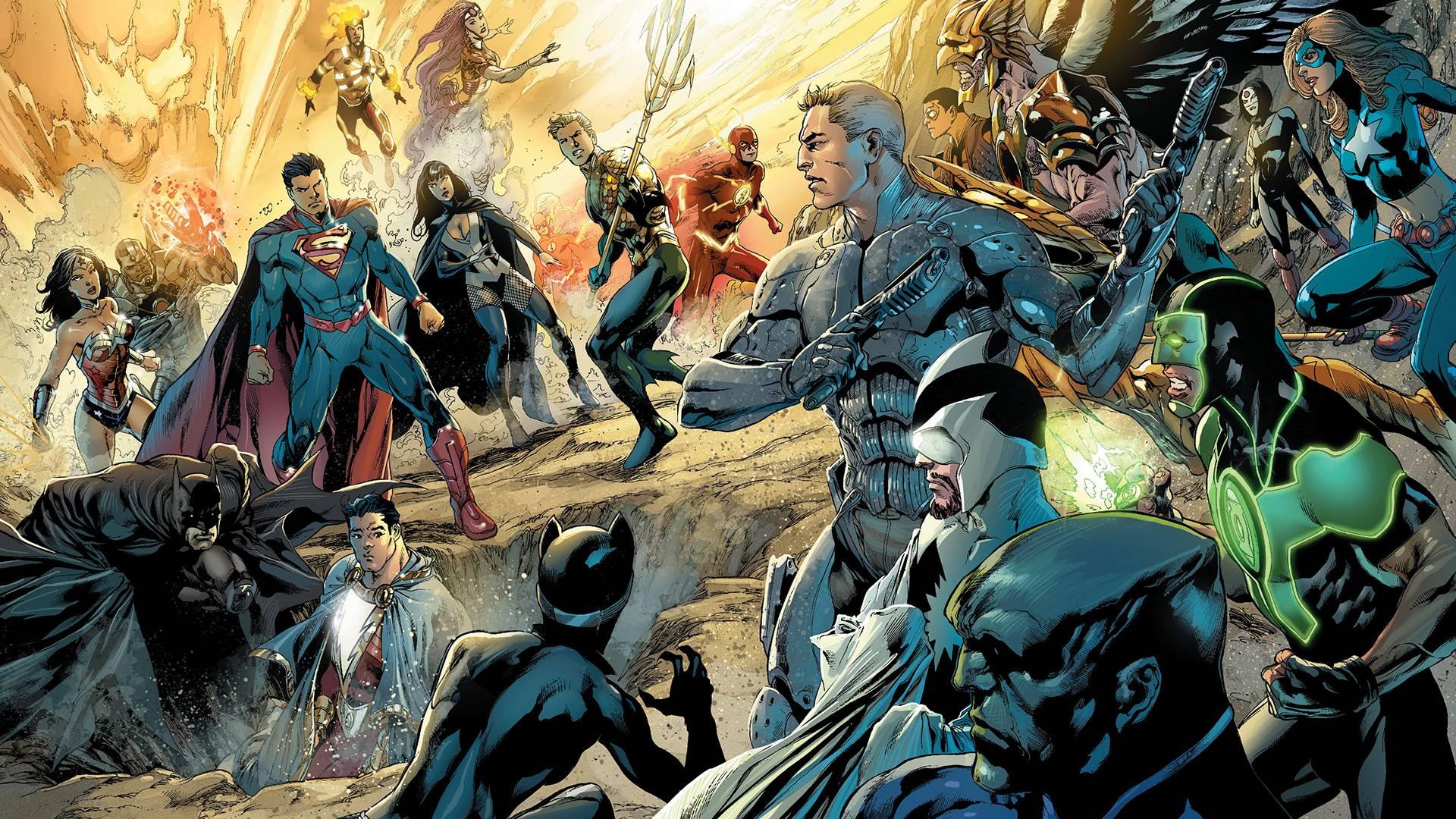 Justice League Fondo De Pantalla Hd Fondo De Escritorio