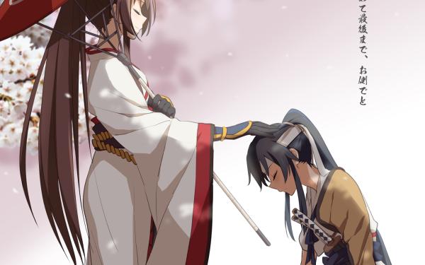 Anime Kantai Collection Yamato Yahagi HD Wallpaper   Background Image
