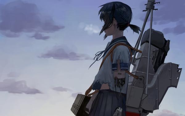 Anime Kantai Collection Fubuki HD Wallpaper   Background Image