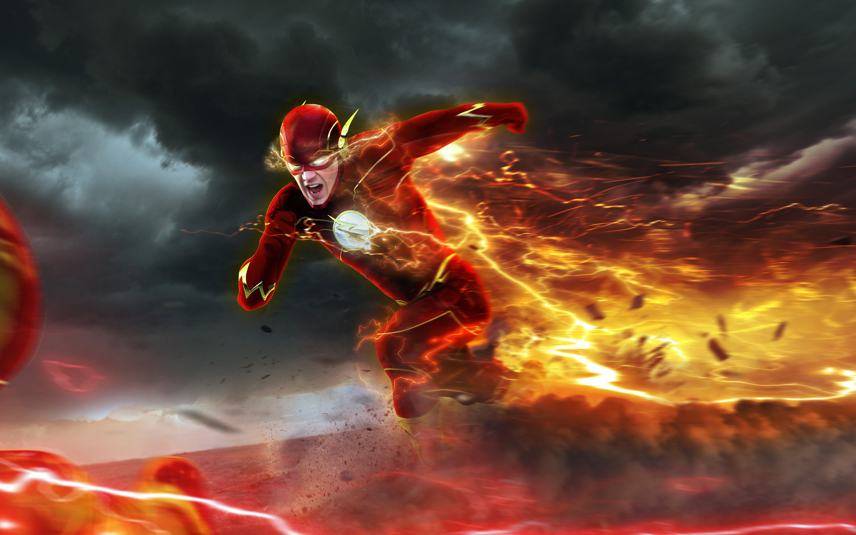 The Flash (2014) HD Wallpaper | Background Image | 2880x1800 | ID:790107 - Wallpaper Abyss