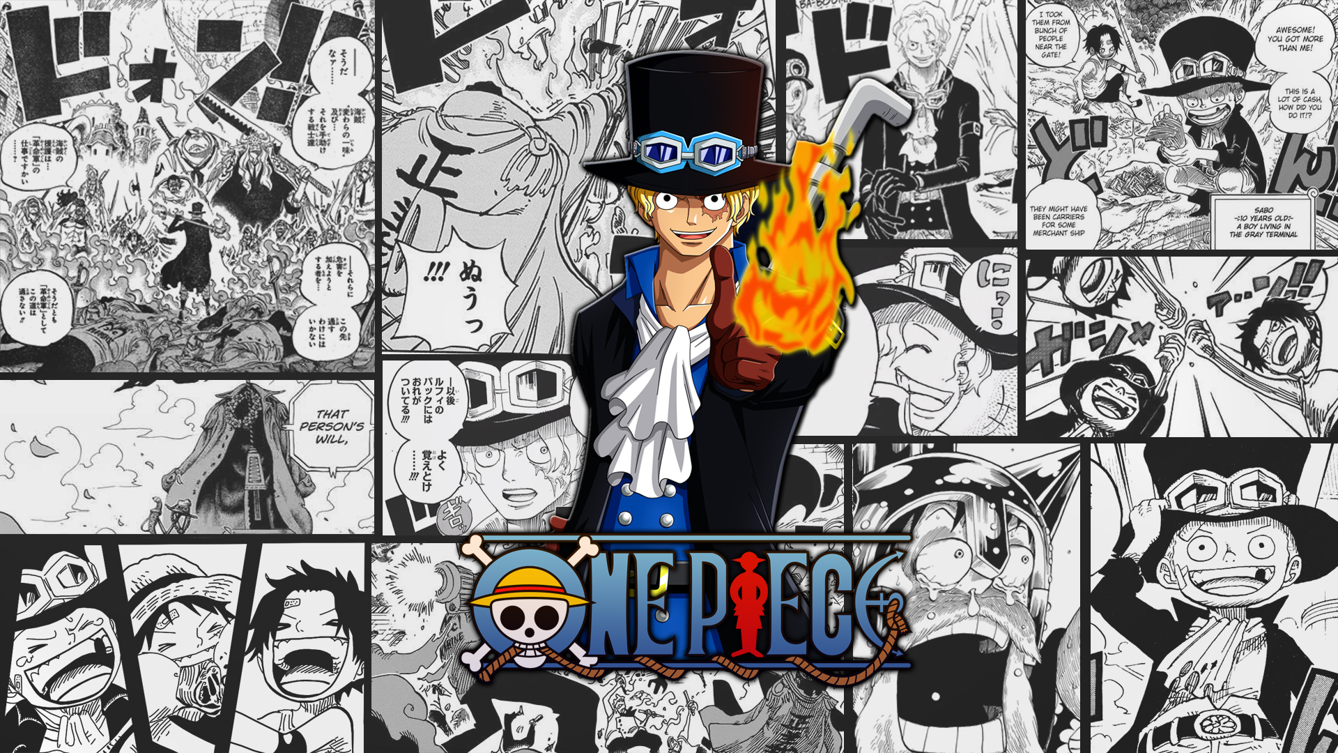 One Piece HD Wallpaper   Background Image   1920x1080   ID:790624 - Wallpaper Abyss