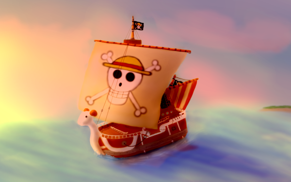 Anime One Piece Going Merry HD Wallpaper   Background Image