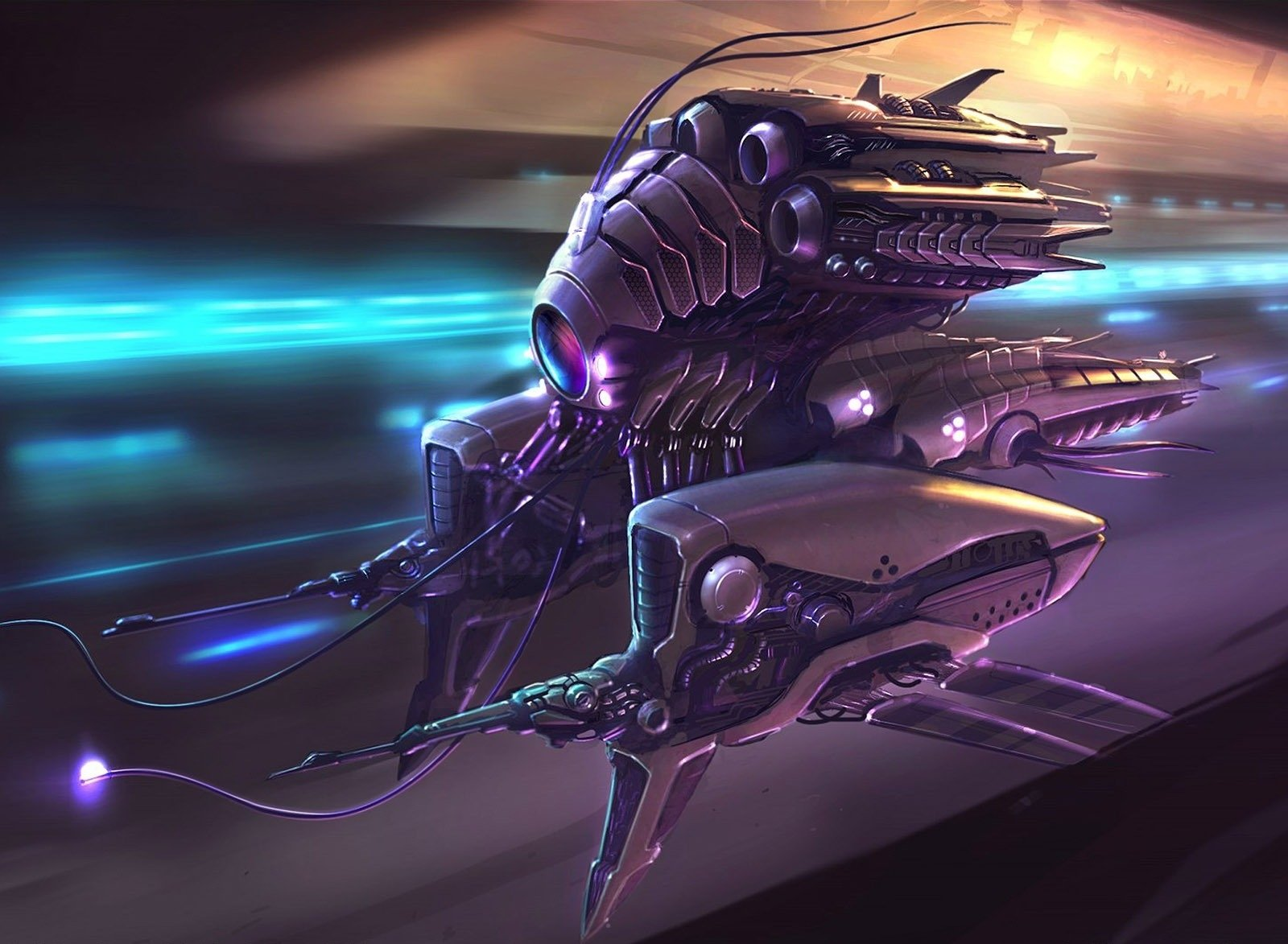 Sci Fi - Spaceship  Sci Fi Technology Alien Weapon Wallpaper