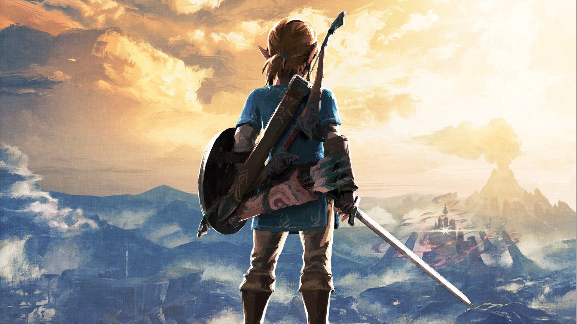 Video Game - The Legend of Zelda: Breath of the Wild  Link Wallpaper