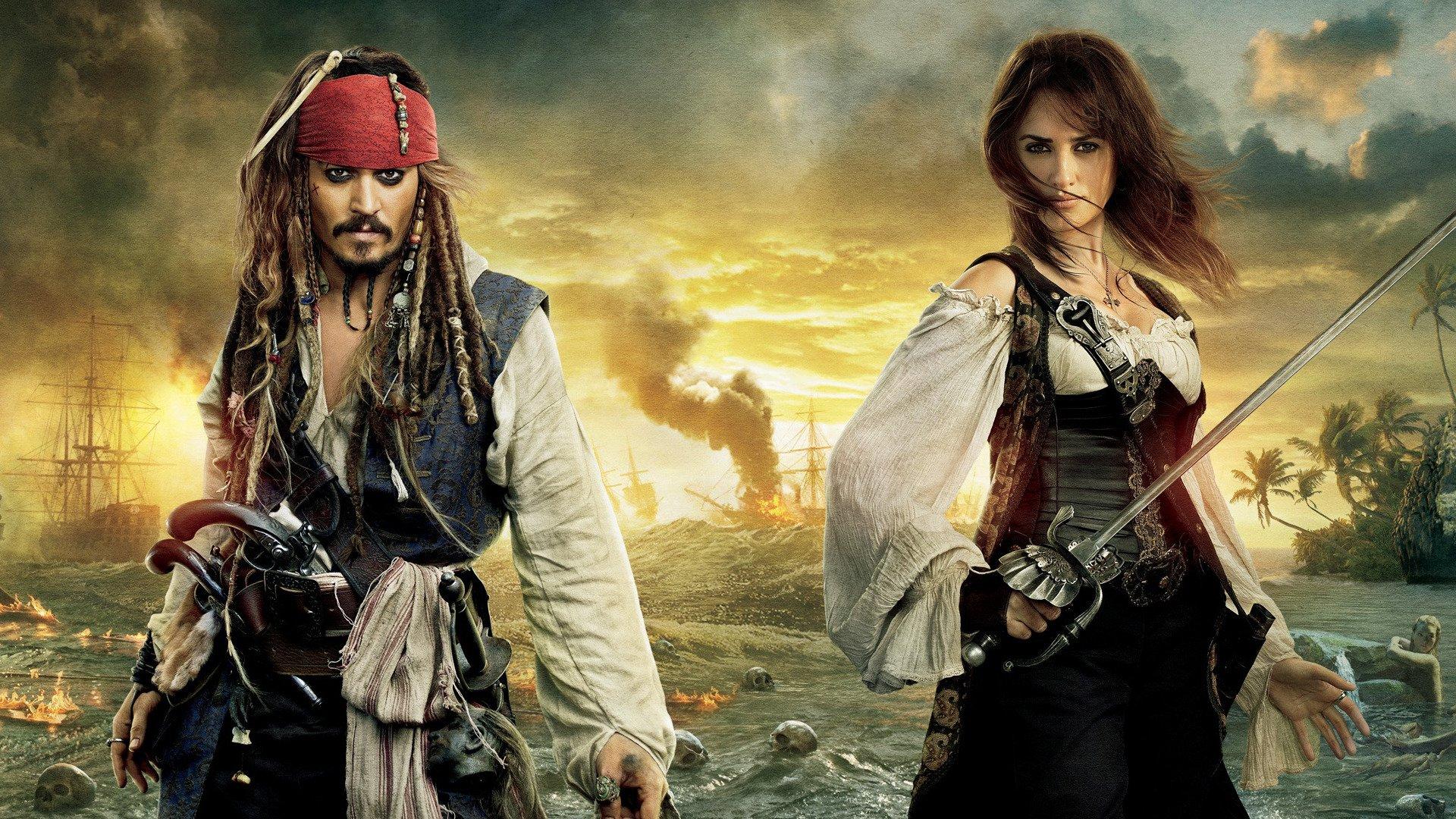 Piratas Del Caribe En Mareas Misteriosas Fondo De Pantalla