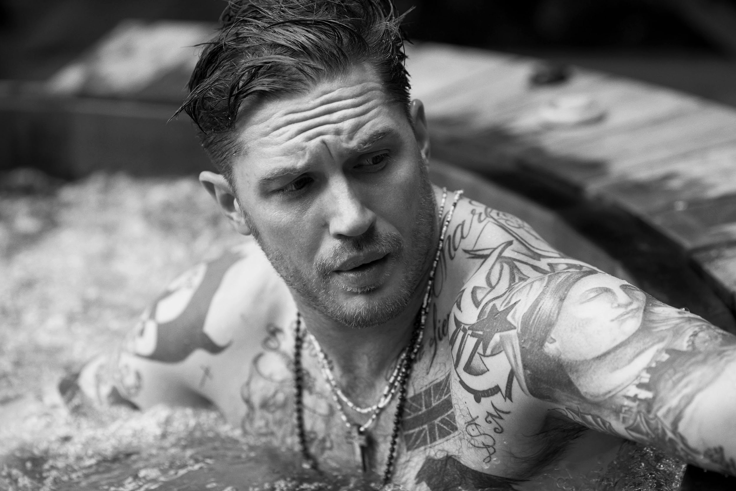 Tom Hardy Full HD Wallpaper And Background Image